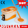 Joyclean Magie 360 Spin MOP facile avec cuve en acier inoxydable (JN-302)