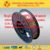 Fio de soldadura revestido de cobre do CO2 de 70s-6/Aws A5.18 Er70s-6