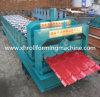 Fabrication du pain vitré d'étape de tuiles de toiture formant la machine