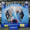Finego Inflatable Moonwalk Bounce Castles Jumpers para Kids From China