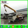 3 Wrecker di tonnellata 4X2 che rimorchia la gru a base piatta del camion