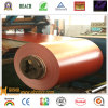 Color Aluminum Coated Coil con Low Price - PVDF-Red