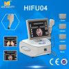 Máquina da beleza do enrugamento de Hifu anti para o elevador de cara e o aperto da pele