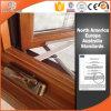 Foldable 불안정한 손잡이 알루미늄 입히는 단단한 오크재를 가진 미국 여닫이 창 Windows