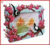 Frame macio da foto do PVC do presente 3D para os presentes da promoção (YH-PF025)