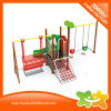 Corrediça e balanço ao ar livre pequenos do equipamento do parque de diversões para crianças