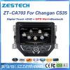 Autoradio di BACCANO 2 DVD per il giocatore automatico di Changan CS35 GPS
