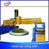 圧力容器ヘッド版または皿のヘッド/Lidの穴E CNC血しょうDrillingcutting機械