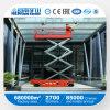 Plate-forme hydraulique mobile de grue de table élévatrice (SJY)