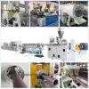 Tubulação plástica do PVC que faz a máquina