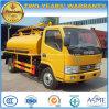 Dongfeng LHD Rhd 6 rueda 3000 L carro del tanque fecal de la succión del vacío
