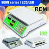 Escala eletrônica com exposição de LED/LCD (800N)