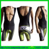 Sublimation de encargo Printing Cycling Bib Shorts para Cycling Sports Wear