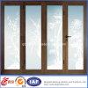 Ventana revestida de la fibra de vidrio del PVC