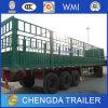 Chengdaのトレーラー3の車軸貨物棒のサイドウォールのトレーラー