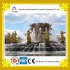 Grande fontaine d'eau carrée avec le système de son imperméable à l'eau