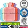 Bottiglia di acqua calda di gomma Ftalato-Libera dello SGS BS di TUV