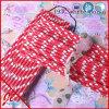 Produits en plastique de partie de pailles de longues pailles rouges de raie