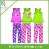 Flame Resistant Pyjamas de la muchacha con Flammability Test Report