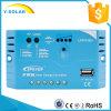 contrôleur Ls1012EU de chargeur de batterie de panneau solaire de 10A 12V USB 5V1.2A