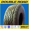 Doppelter Schlussteil-LKW-Gummireifen der Straßen-385/65r22.5 super einzelner