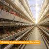 Geflügel-Huhn überlagert automatische Batterien