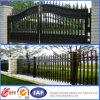 Puerta elegante modificada para requisitos particulares del chalet del hierro labrado de la vendimia