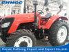 trator de exploração agrícola da maquinaria agricultural Hh904 do trator da roda 4WD