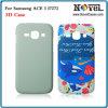 Caja del teléfono en blanco 3D para Samsung I7272