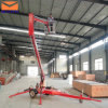 Aerial Workのための14m Trailing Trailer Mounted Boom Lift