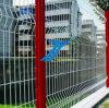 溶接された網の塀PVC上塗を施してある曲線の塀