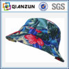 Concevoir le chapeau blanc floral populaire de position de logo d'étiquette
