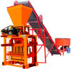 Maquinaria do bloco de cimento da capacidade elevada de Zcjk