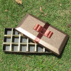 Rectángulo del caramelo del rectángulo del chocolate de la caja de cartón de la alta calidad