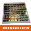 Autocollants holographiques colorés de estampillage chauds