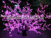 Яркое цветение Tree Light Pink СИД Cherry для сада Park Decoration Street