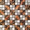 Мозаика красивейшего золотистого стеклянного искусствоа стеклянная (VMW3644 30X30cm)