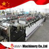 Heavy Duty Three Side Sealing Double Stand Bags Double Zipper Bag Making Machine