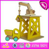 2014 novo e Popular Kids Car Toys, Wooden Children Car Toys e Hot Sale Baby Car Toys W04b005