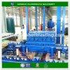 鋼管の内部磨くサンドブラスティングのクリーニング機械