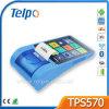Desktop sem fio da lotaria de Telpo TPS570 máquinas da posição da tabuleta de 7 polegadas com impressora WiFi