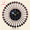 12 pulgadas Art Metal Quartz Wall Clock con el árabe Numbers