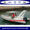 堅い外皮の膨脹可能なボート(RIB830)