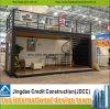 O Prefab pré-fabricado abriga a casa modular da casa do recipiente feita em China