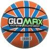 Basket-ball coloré en caoutchouc de qualité de Glomax