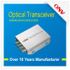 Видео- приемопередатчик оптического волокна одиночного режима канала Transmission-4