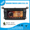 GPS A8 Chipset 3 지역 Pop 3G/WiFi Bt 20 Disc Playing를 가진 Toyota RAV4 2013년을%s 인조 인간 Car Autoradio