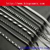 ステンレス鋼の鎖または黄銅の鎖または衣類の鎖またはビードの鎖またはハンドバッグの鎖または財布の鎖または金属のトリム鎖かネックレスの鎖