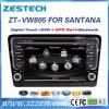 GPS BluetoothとのVWサンタナかBora 2013年のための車DVDシステム