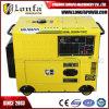 4.6kVA однофазный портативный тепловозный молчком тип генератор